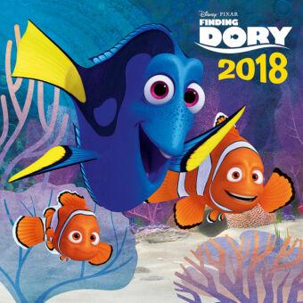 Realsystem Falinaptár, DIY: 36 részes memóriajáték, 2018 - Finding Dory
