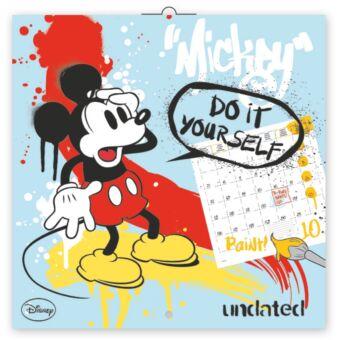 Realsystem Falinaptár, DIY: színezős naptár, 2018 - Mickey Mouse