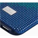 Swarovski Crystalgram iPhone® XS Max:Telefon Hátlap Blue Anniversar