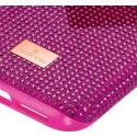 Swarovski Crystalgram iPhone® 11 Pro:Telefon Hátlap Pink Heart