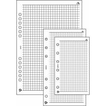 Realsystem Négyzethálós jegyzetlap L