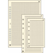 Realsystem Négyzethálós jegyzetlap S