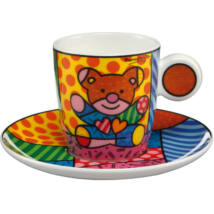 Goebel Pop Art - Romero Britto - Truly Yours mokkás szett