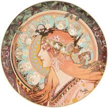 Goebel Artis Orbis - Alphonse Mucha / Dísztál - Zodiac