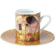 Goebel Artis Orbis - Gustav Klimt / Eszpresszó Szett - The Kiss