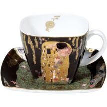 Goebel Artis Orbis - Gustav Klimt / Kávés szett - The Kiss