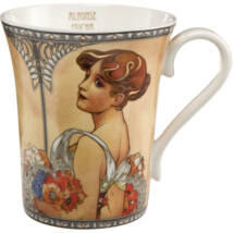 Goebel Artis Orbis - Alphonse Mucha / Bögre - Summer 1900