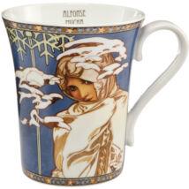 Goebel Artis Orbis - Alphonse Mucha / Bögre - Winter 1900