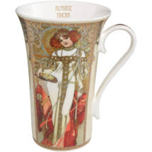Goebel Artis Orbis - Alphonse Mucha / Bögre Szett - Autumn-Winter 1900