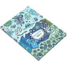 Realsystem Színezd a napod barátságkönyv - Kék