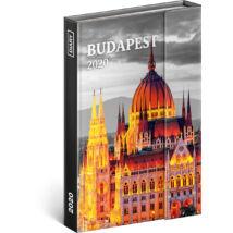 Realsystem Mágnessel záródó heti naptár, 2020 - Budapest