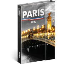 Realsystem Mágnessel záródó heti naptár, 2020 - Paris