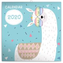 Realsystem Falinaptár, 2020 - Happy llamas