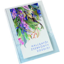 Realsystem hallgatói zsebkönyv 2020/2021 - Virágminta