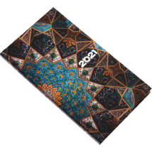 Realsystem Picture álló zsebnaptár, 2021 - Mozaik