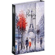 Realsystem Mágnessel záródó heti naptár, 2021 - Paris