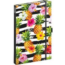 Realsystem Design notesz, vonalas - Pineapples
