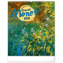 Realsystem Falinaptár, 2021 - Claude Monet