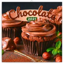 Realsystem Falinaptár, 2021 - Chocolate - illatosított