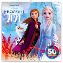 Realsystem Falinaptár, 2021 - Frozen, 50 matricával
