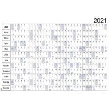Realsystem Plakátnaptár hengerben, 2021