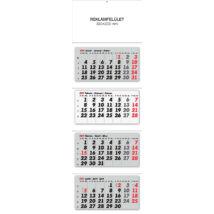 Realsystem Speditőr naptár, 4 részes, 2021