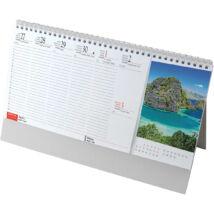 Realsystem Képes álló asztali naptár, Sziget, 2021
