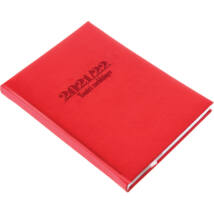 Realsystem tanári zsebkönyv 2021/2022 - Piros