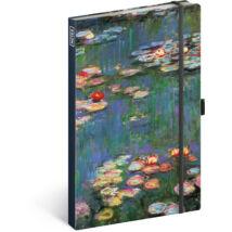 Realsystem Design notesz, vonalas - Claude Monet