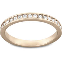 Swarovski Rare:Gyűrű Czwh/Ros 55