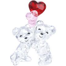 Swarovski Kris Bear - Heart Balloons