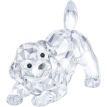 Swarovski Labrador Puppy, Playing