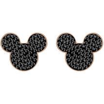 Swarovski Mickey&Minnie:Fülbevaló Mickey Jet/Ros