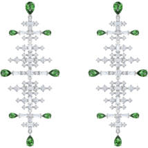 Swarovski Fülbevalórfection:Fülbevaló Chndl Czgr/Rhs