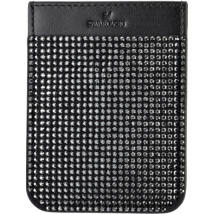 Swarovski Smartphone Pocket.:Telefon Hátlap Zseb Blk