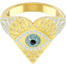 Swarovski Lucky Goddess:Gyűrű Heart Lmul/Gos 55