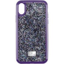 Swarovski Glam Rock. Ipxs Max:Telefon hátlap Purple