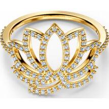 Swarovski Symbol:Gyűrű Lotus Czwh/Gos 55