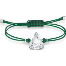 Swarovski Power:Karkötő Crd Buddha Cry/Sts M