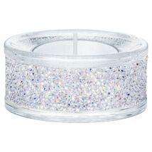 Swarovski Shimmer mécsestartó, Crystal Ab