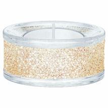 Swarovski Shimmer mécsestartó, Gold Tone
