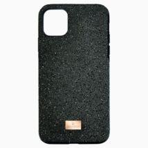 Swarovski High iPhone® 11 Pro Max:Telefon Hátlap Blk/Sts