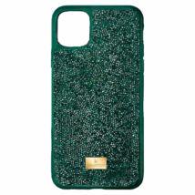 Swarovski Glam Rock iPhone® 12 Mini: Telefon Hátlap Green