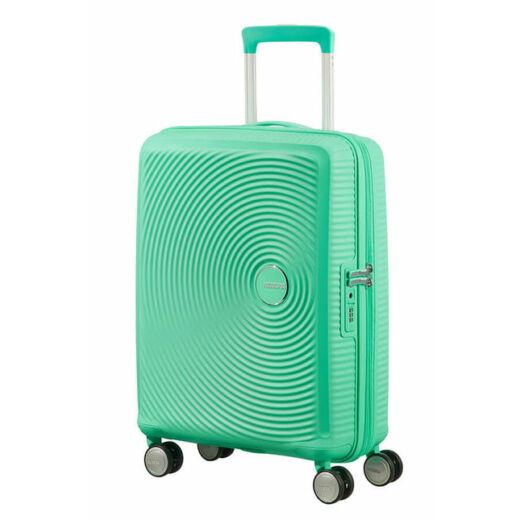 American Tourister SoundBox Spinner 55 cm, bővíthető