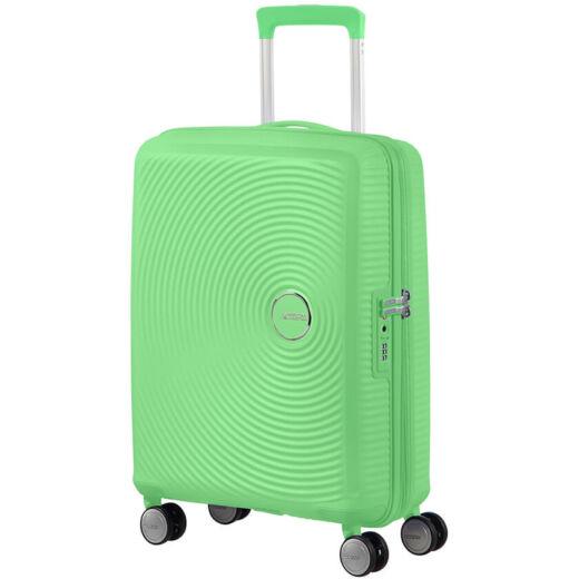 American Tourister SoundBox Fedélzeti Spinner 55 cm, bővíthető