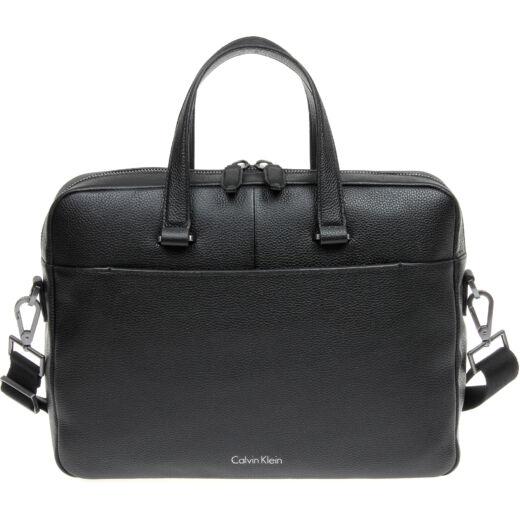 Calvin Klein Basic Leather férfi laptoptáska