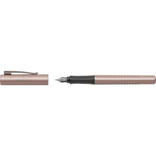 Faber-Castell Töltőtoll GRIP EDITION Réz Rózsa F