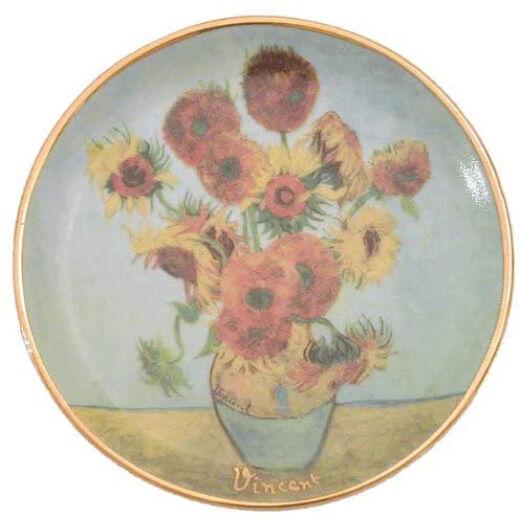 Goebel Artis Orbis - Vincent Van Gogh / Dísztál - Sunflower