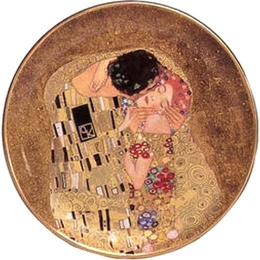 Goebel Gustav Klimt / Dísztál - The Kiss