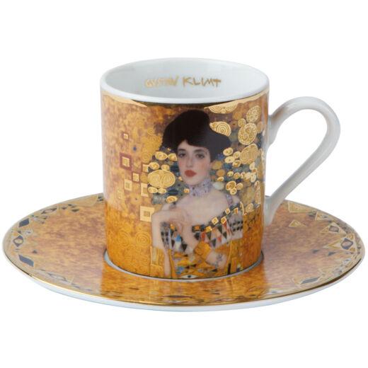 Goebel Artis Orbis - Gustav Klimt / Eszpresszó Szett - Adele Bloch-Bauer